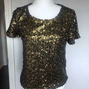 Sequin T-shirt H&M